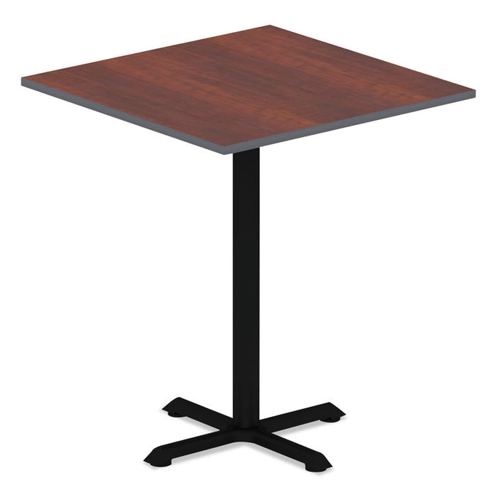 Reversible Laminate Table Top, Square, 35 3/8w x 35 3/8d, Medium Cherry/Mahogany
