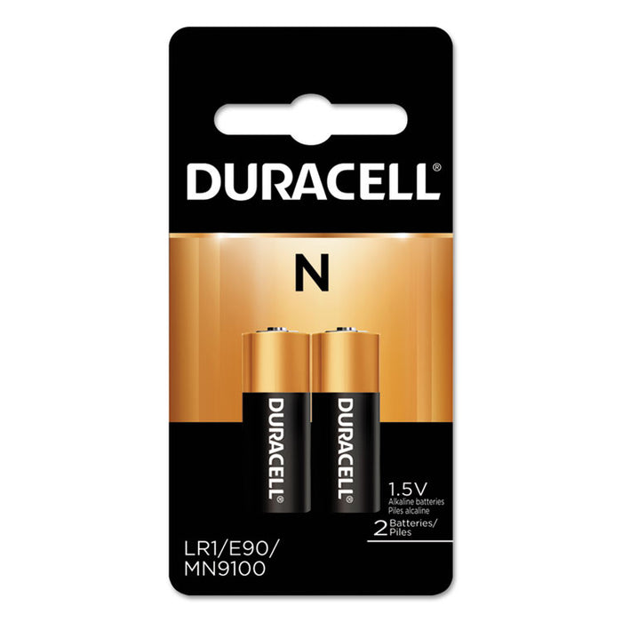 Specialty Alkaline Battery, N, 1.5V, 2/PK