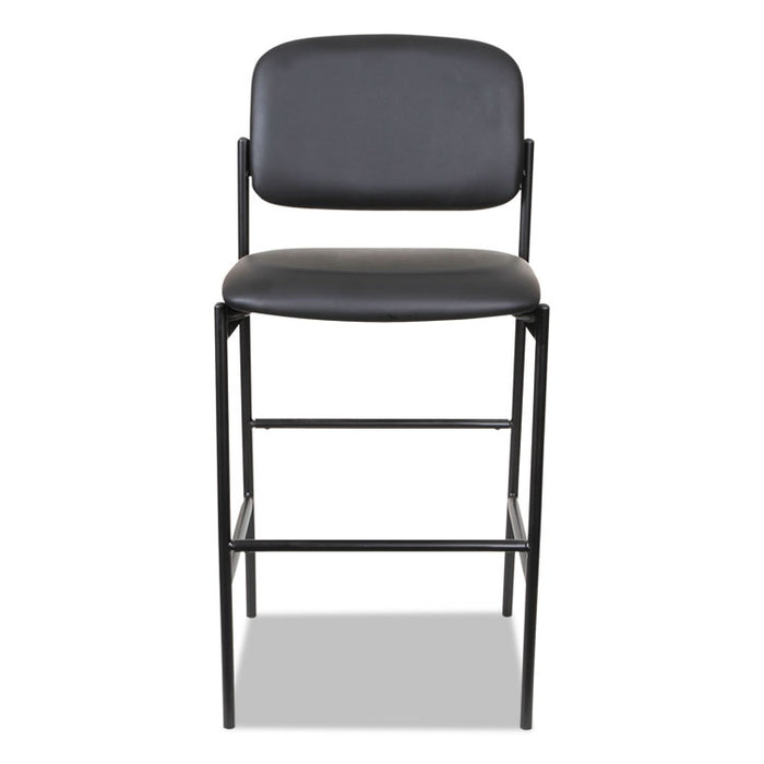 Alera Sorrento Series Stool, Supports up to 300 lbs., Black Seat/Black Back, Black Base, 2/Carton