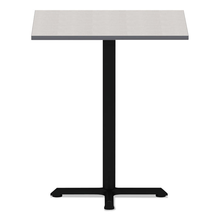 Reversible Laminate Table Top, Square, 35 3/8w x 35 3/8d, White/Gray