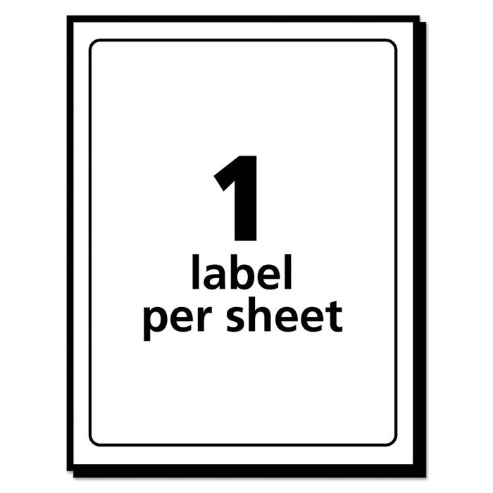 Removable Multi-Use Labels, Inkjet/Laser Printers, 3 x 5, White, 40/Pack