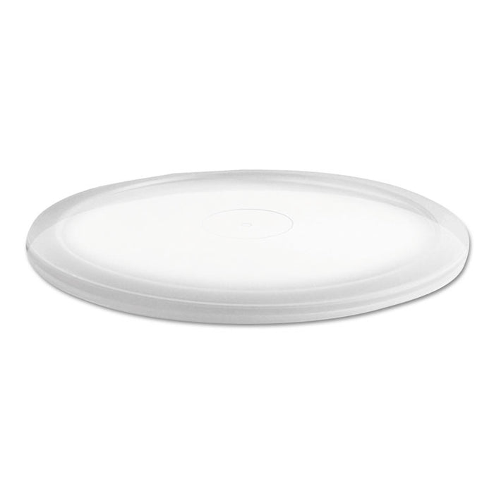 MicroLite Deli Tub Lid, Clear, Over-Cap Fit, Fits 8-32 oz Containers, 500/Carton