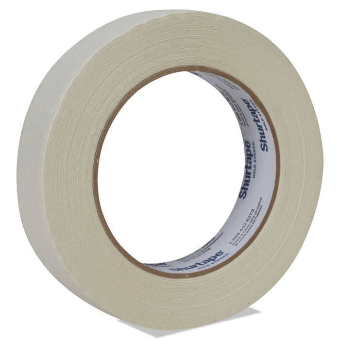 "Color Masking Tape, 3"" Core, 0.94"" x 60 yds, White"