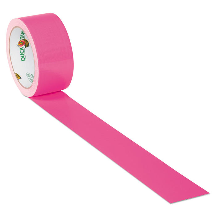 "Colored Duct Tape, 3"" Core, 1.88"" x 15 yds, Neon Pink"