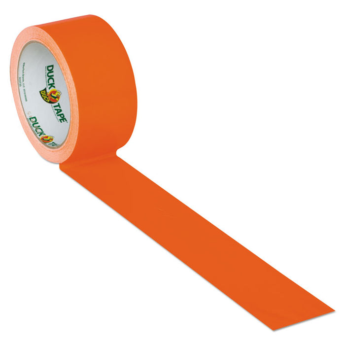"Colored Duct Tape, 3"" Core, 1.88"" x 15 yds, Neon Orange"