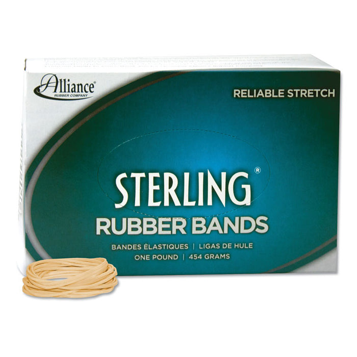 "Sterling Rubber Bands, Size 16, 0.03"" Gauge, Crepe, 1 lb Box, 2,300/Box"