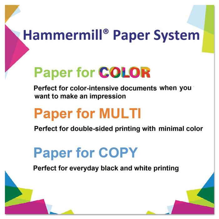 Colors Print Paper, 20lb, 8.5 x 11, Cream, 500/Ream