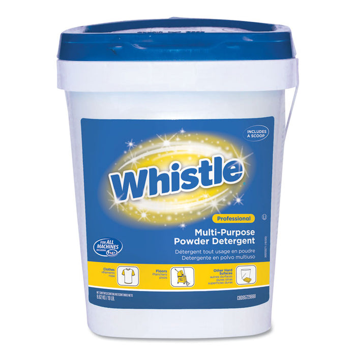 Whistle Multi-Purpose Powder Detergent, Citrus, 19 lb Pail