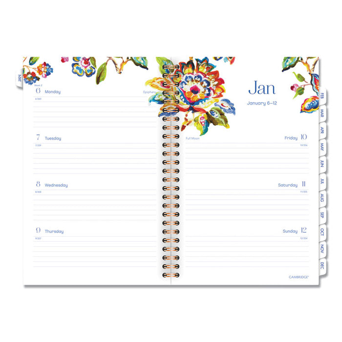Hannah Weekly/Monthly Planner, 8 1/2 x 5 1/2, 2020