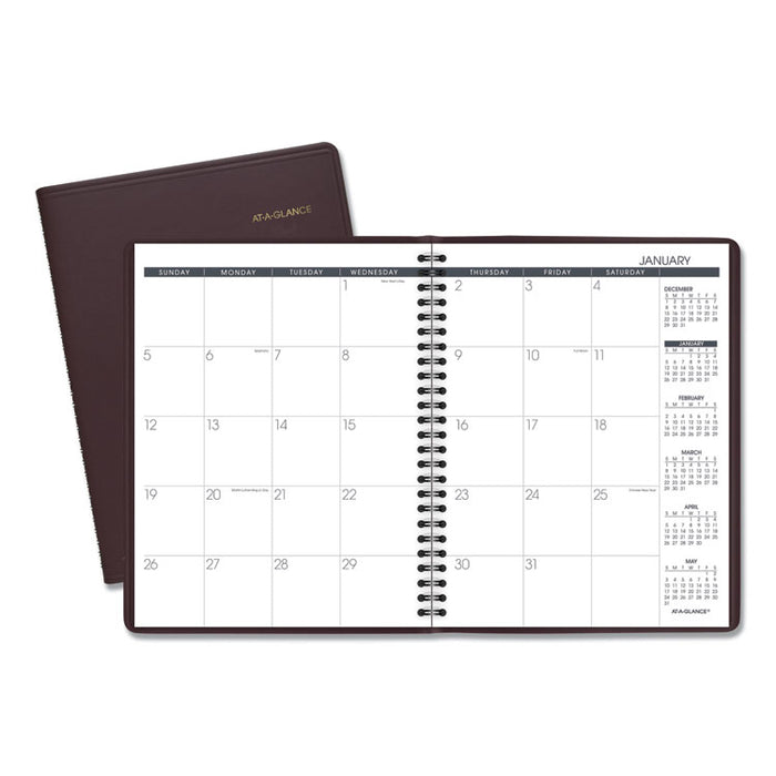 Monthly Planner, 8 3/4 x 6 7/8, Winestone, 2020