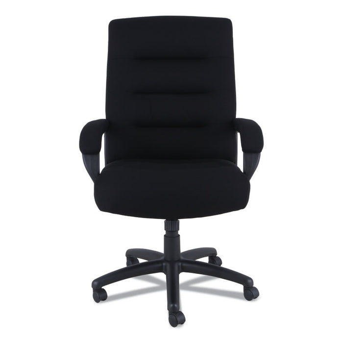 Alera Kesson Series High-Back Office Chair, Supports up to 300 lbs., Black Seat/Black Back, Black Base