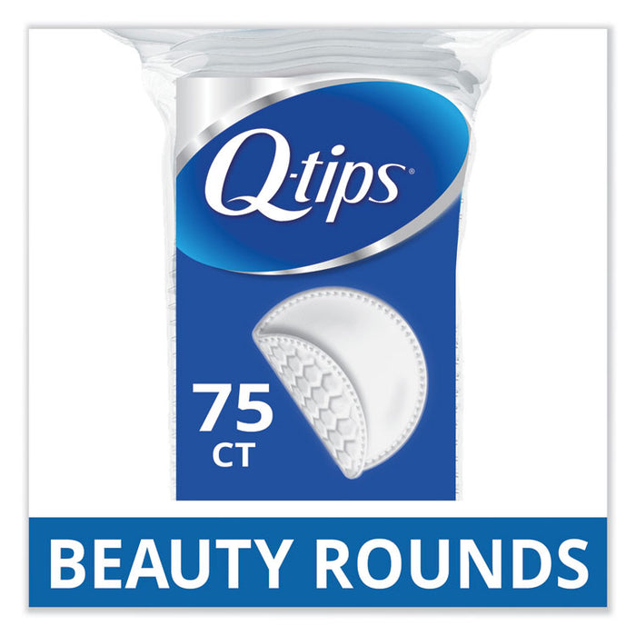 Beauty Rounds, 75/Pack, 24 Packs/Carton