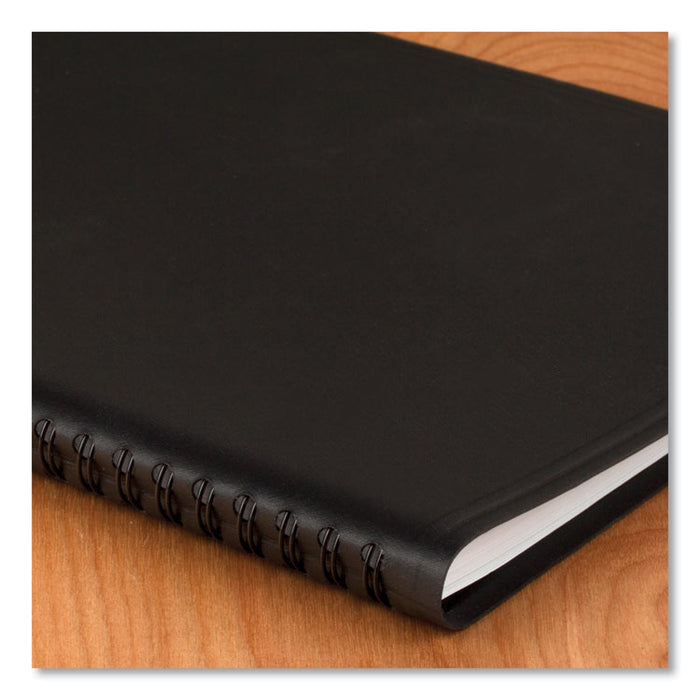QuickNotes Monthly Planner, 10 7/8 x 8 1/4, Black, 2020