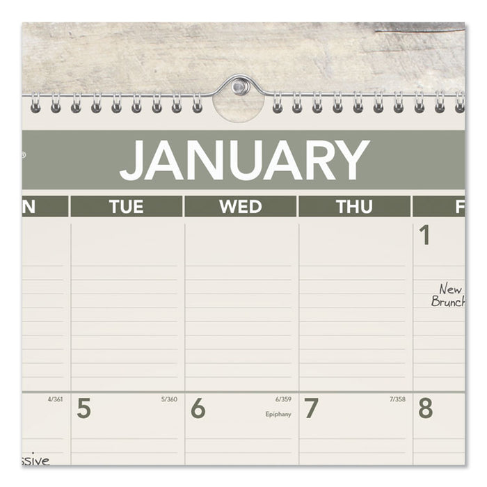 Recycled Wall Calendar, 15.5 x 22.75, 2020