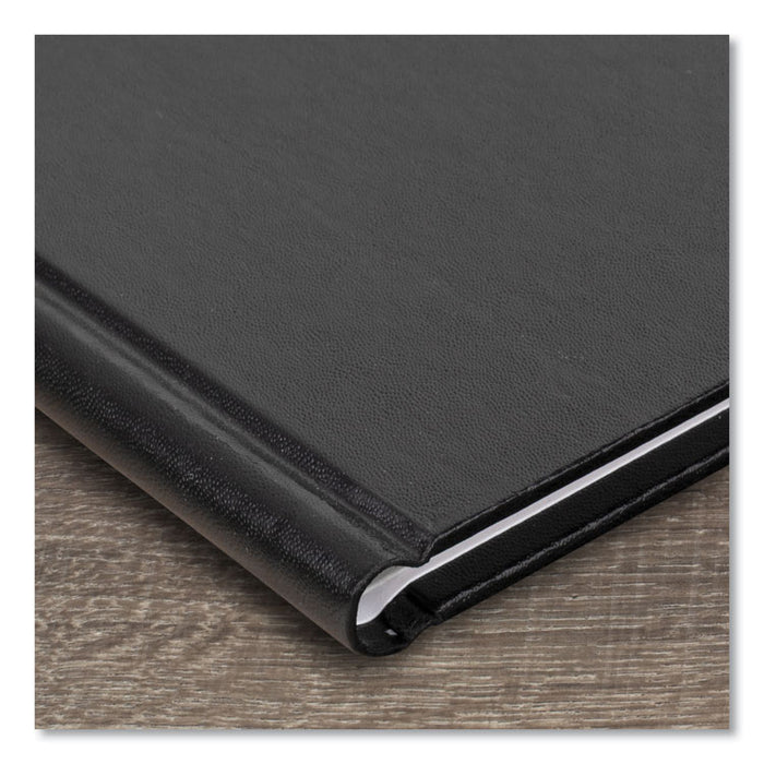 Hardcover Weekly Appointment Book, 11 x 8, Black, 2020