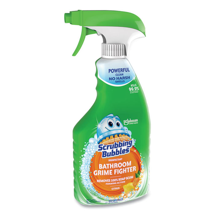 Multi Surface Bathroom Cleaner, Citrus Scent, 32 oz Spray Bottle, 8/CT