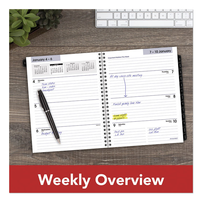 Executive Weekly/Monthly Refill, 8 3/4 x 6 7/8, 2020