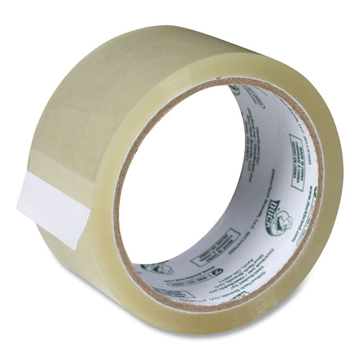 "Commercial Grade Packaging Tape, 3"" Core, 1.88"" x 55 yds, Clear, 6/Pack"