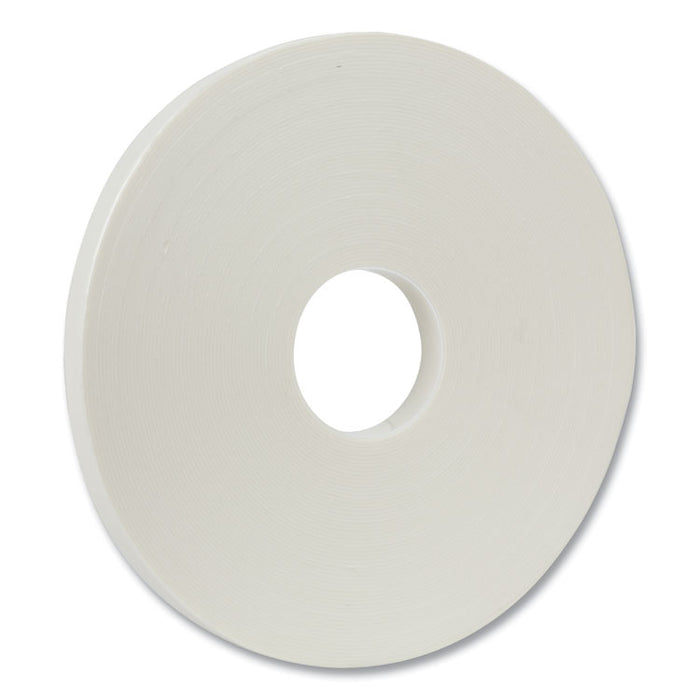 "Permanent Foam Mounting Tape, 3/4"" x 36yds"
