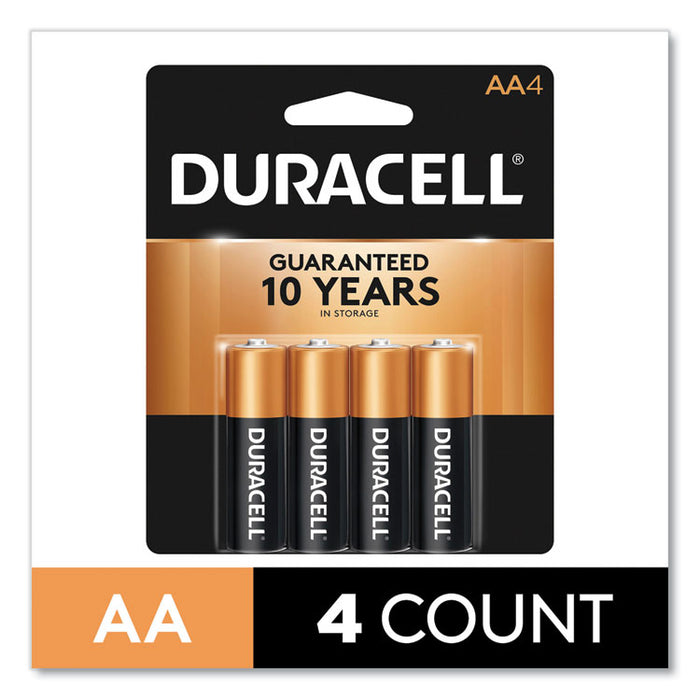 CopperTop Alkaline AA Batteries, 4/Pack