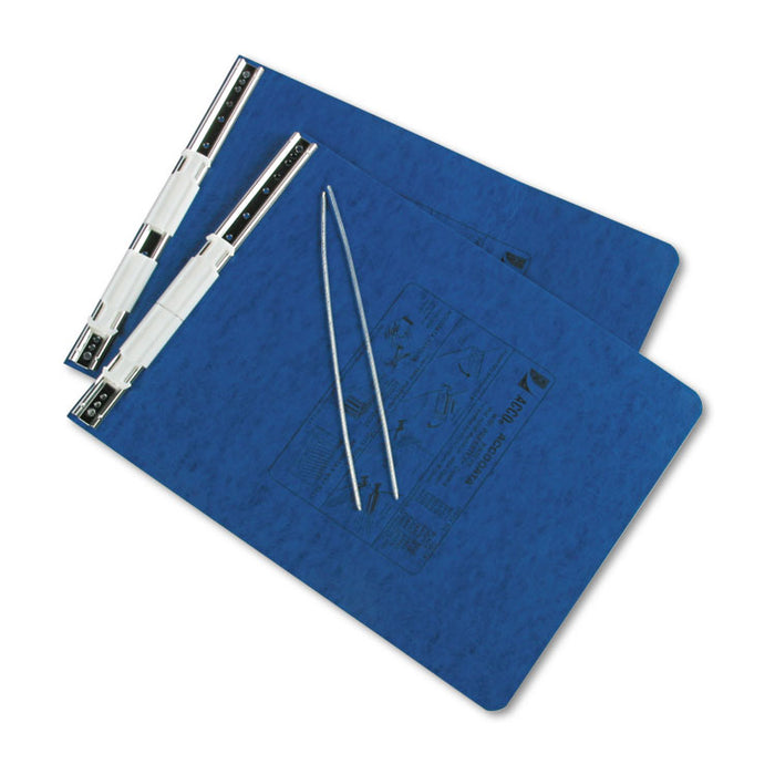 "PRESSTEX Covers with Storage Hooks, 2 Posts, 6"" Capacity, 9.5 x 11, Dark Blue"