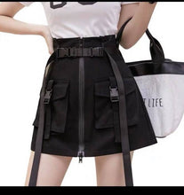 Load image into Gallery viewer, CHEERS FASHION | CARGO SKIRT WITH BELT