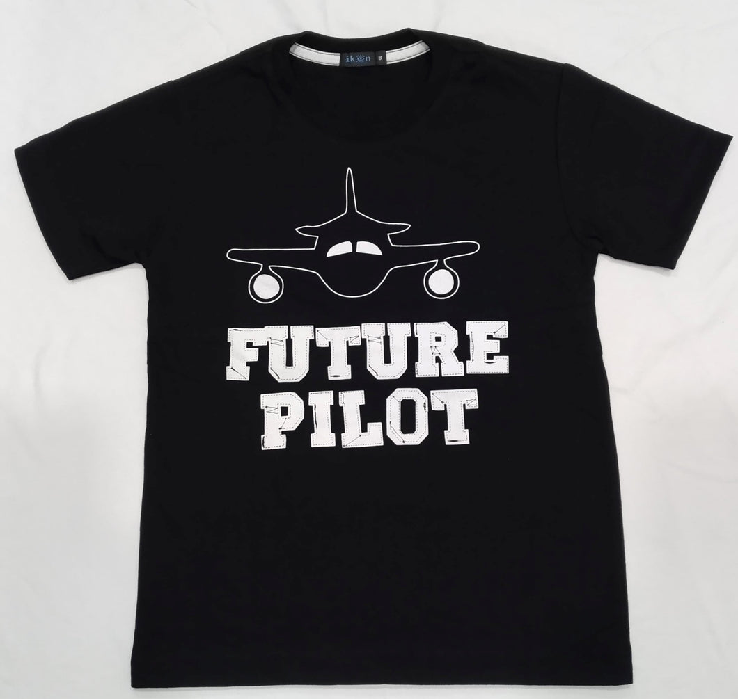 IKON | FUTURE PILOT BLACK SHIRT