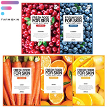 Load image into Gallery viewer, FARMSKIN | FRESH FOOD MASK PROGRAM PLUMPING SET
