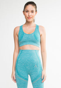 LOTUS ACTIVEWEAR | SABINE SEAMLESS BRA GREEN