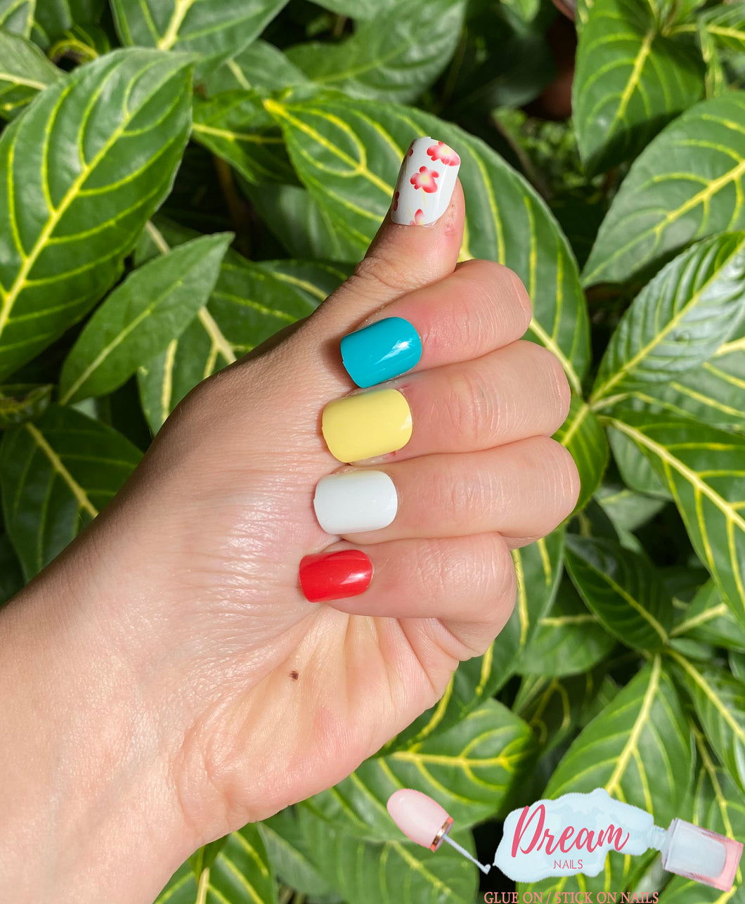 DREAM NAILS | LOVELY PRESS-ON NAILS