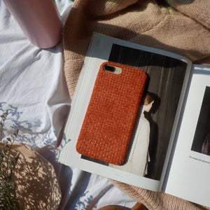 B MANILA | FABRIC CASE THE PEYTON IN RUST