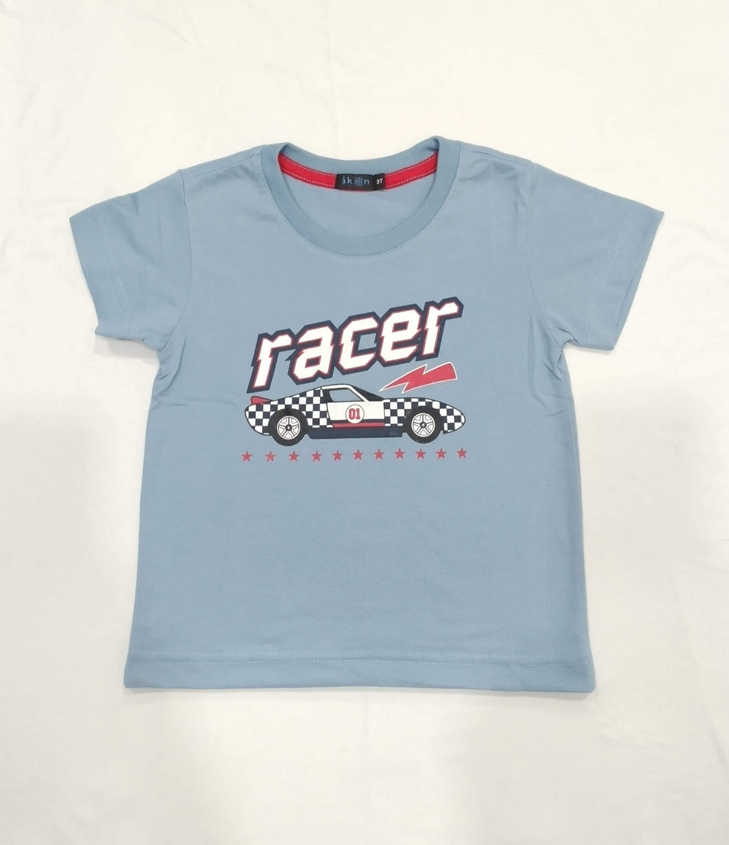 IKON | RACER POWDER BLUE TODDLER SHIRT