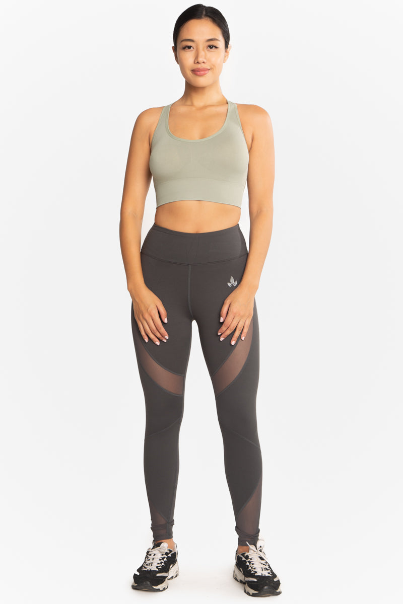 LOTUS ACTIVEWEAR | EVIE SPORTS BRA SAGE
