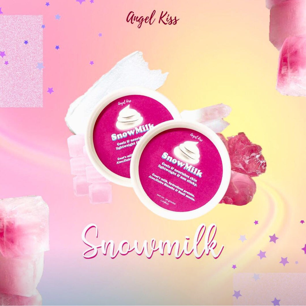 ANGEL KISS SKIN | SNOWMILK GLASS SKIN CREAM