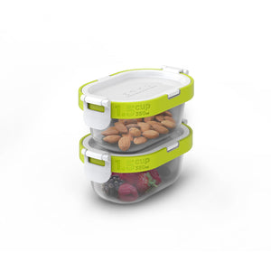 ZOKU NEAT STACK 4PC SNACK SET