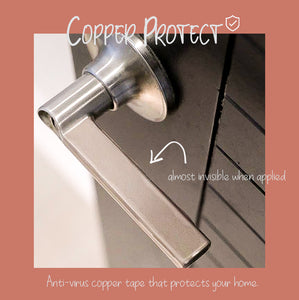 COPPER PROTECT | COPPER SHEET FOR DOOR HANDLES