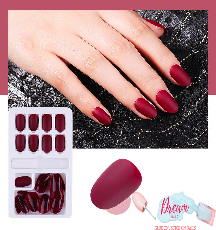 DREAM NAILS | ALLURING RED PRESS-ON NAILS
