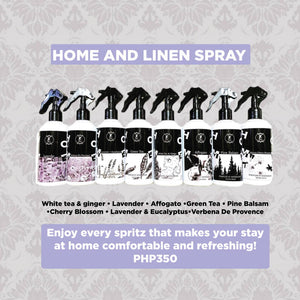 THE FRAGRANCE COLLECTION | HOME AND LINEN SPRAY PROMO