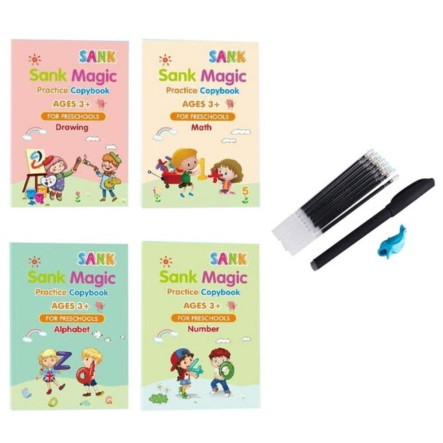 Children's Magic Practice Copybook