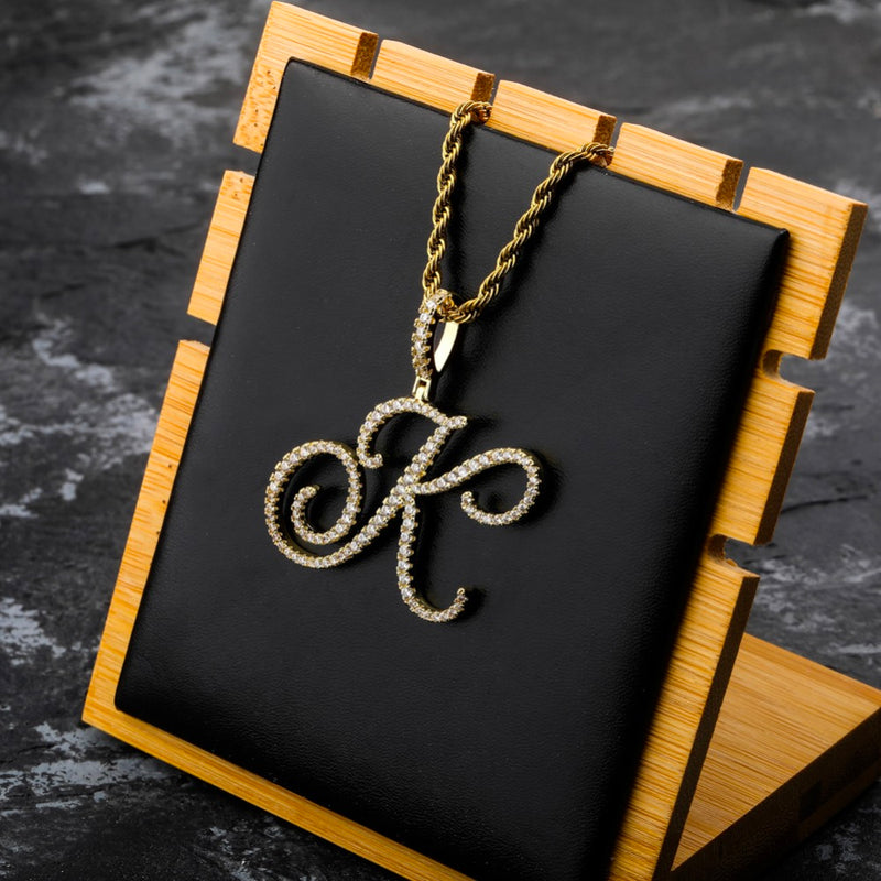Collier Lettre Or 18k