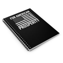 Load image into Gallery viewer, American Prosperity Notebook - Ruled Line - America Prosper