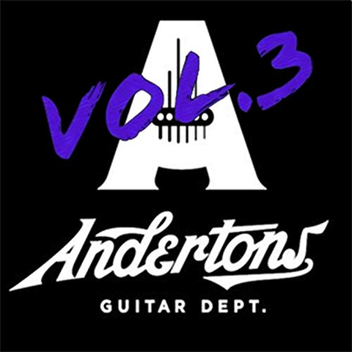 Andertons TV Guitar Jam Track Vol 3