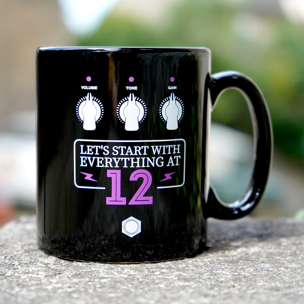 SHOP CLOSED UNTIL 28TH DECEMBER 2020        Let's Start At 12 Mug