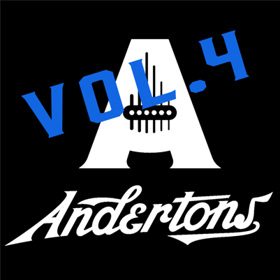 Andertons TV - Guitar Jam Tracks Vol 4