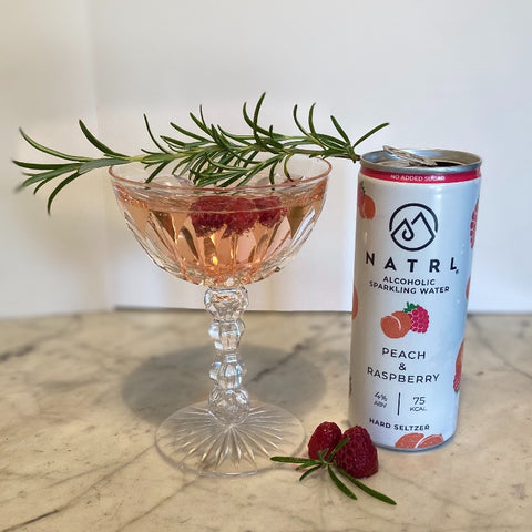 Prosecco hard seltzer cocktail