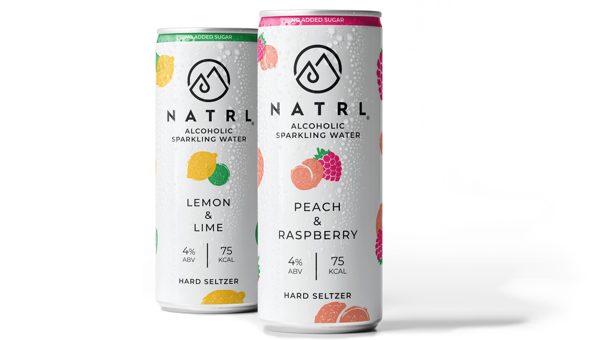 Alcoholic Sparkling Water by NATRL