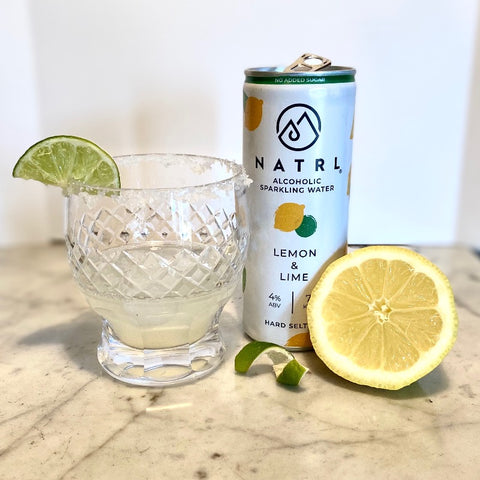 Tequila hard seltzer cocktail
