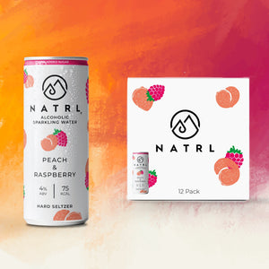 Alcoholic sparkling water from NATRL
