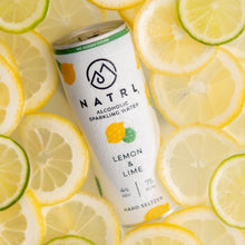 Load image into Gallery viewer, What is hard seltzer? Lemon & Lime alcoholic sparkling water