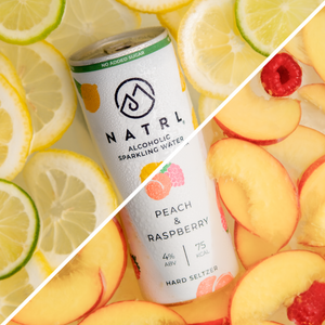 Alcoholic Sparkling Water Variety Pack from NATRL